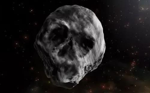 Asteroide em forma de caveira deve se aproximar da Terra em 2018