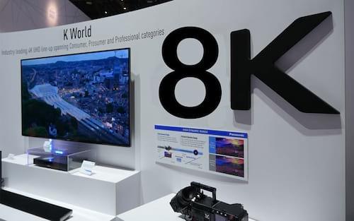 Fabricantes e emissoras já estudam a resolução 8k