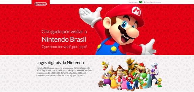 Será? Nintendo de volta ao Brasil.