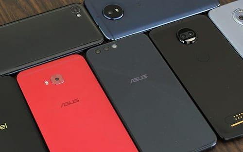 Os smartphones lançados em 2017