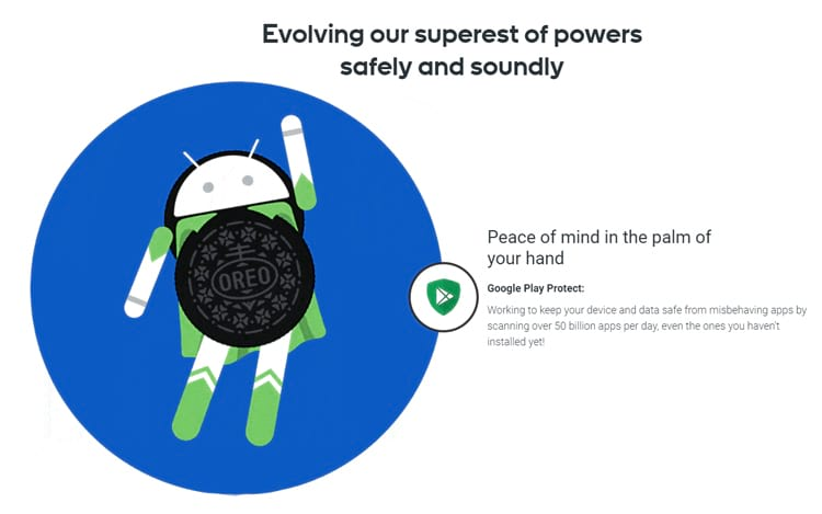 Google Play Protect protege seu smartphone de aplicativos maliciosos.
