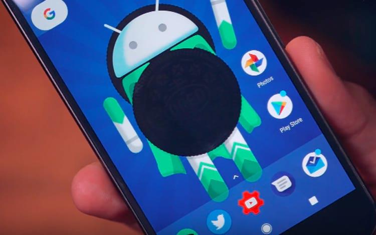 Novo Android Oreo.