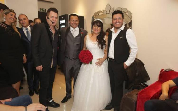 Casamento teve show da dupla Bruno e Marrone