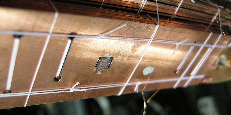 chip utilizado para chegar perto do Zero Absoluto