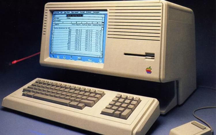 Lisa foi o primeiro computador com interface gráfica.
