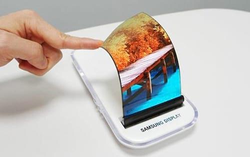 Patente de tela rolável é apresentada pela Samsung