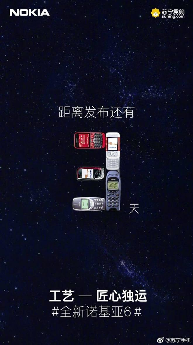 Nokia 6 pode ser lançado nesta semana, aponta varejista.