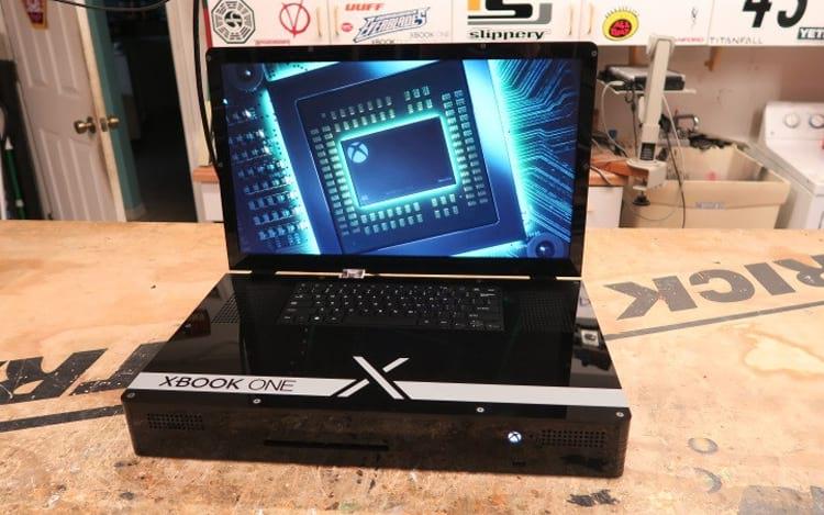 Conheça o Xbook One X o console convertido em laptop