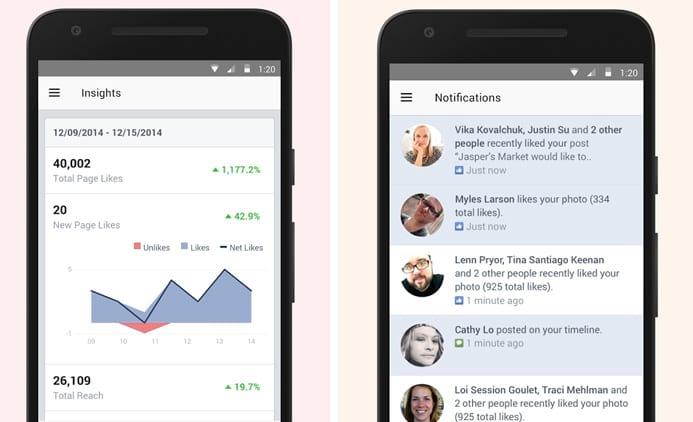 Administrando as páginas do Facebook direto do celular e sem complicações