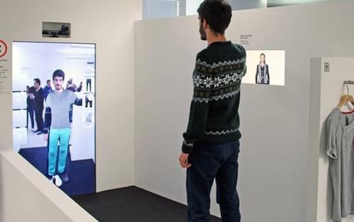 Amazon registra patente de espelho virtual