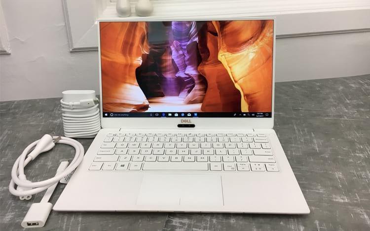 Novo Dell XPS 13, com tela 4K e processador Intel de 8° geração.