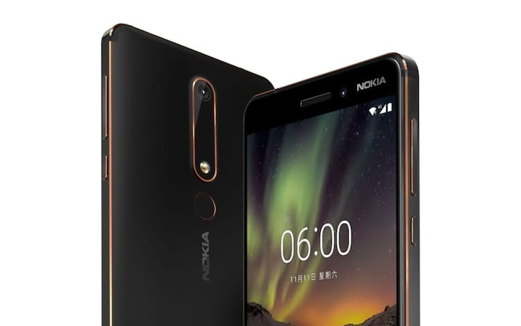Nokia 6 (2018) é lançado oficialmente.
