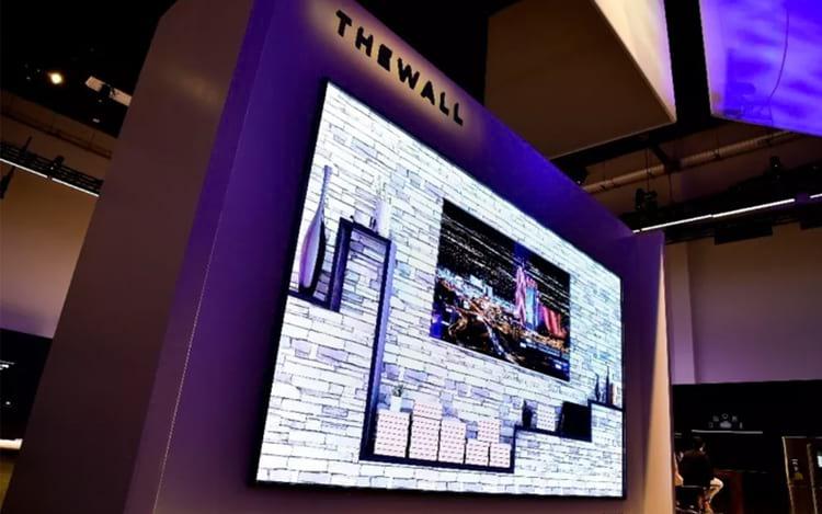 The Wall, tem capacidade para até 146 polegadas.