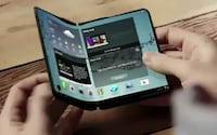 Celular com tela dobrável da Samsung já tem data provável de lançamento
