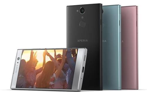 CES 2018: Sony lança três smartphones da linha Xperia com leitores de digitais