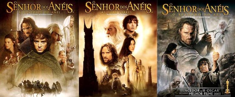 """Trilogia """"O Senhor dos Anéis"""""""