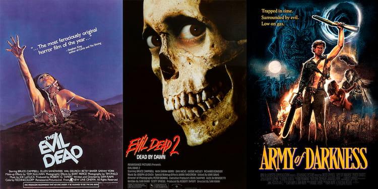 """Trilogia """"A Morte do Demônio"""""""
