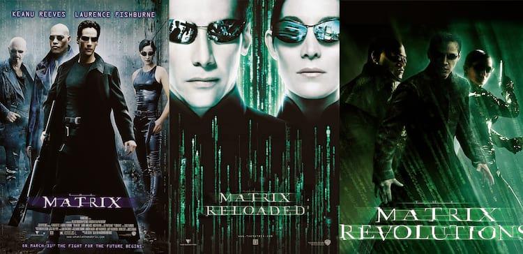 """Trilogia """"Matrix"""""""