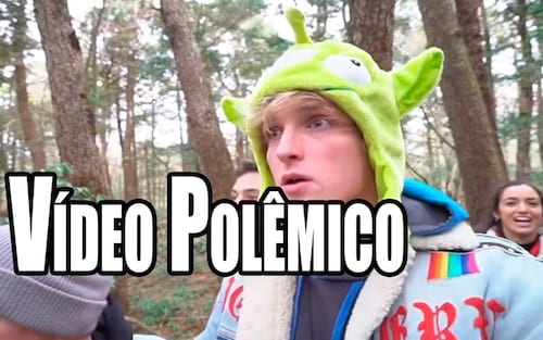 YouTube repreende Logan Paul pelo vídeo na floresta do suicídio