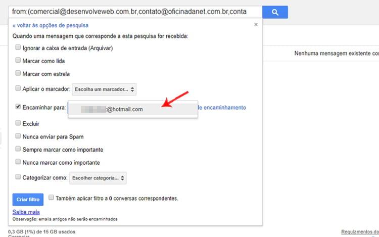Aprenda a ativar o redirecionamento automático de emails