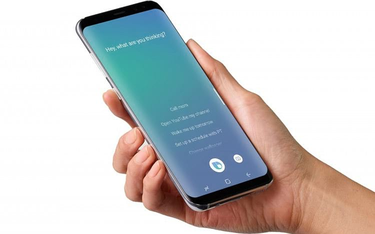 Samsung quer fazer com que a BixBy conte as calorias dos seus alimentos.