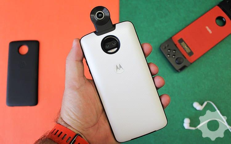 Review Snap Moto 360 Câmera