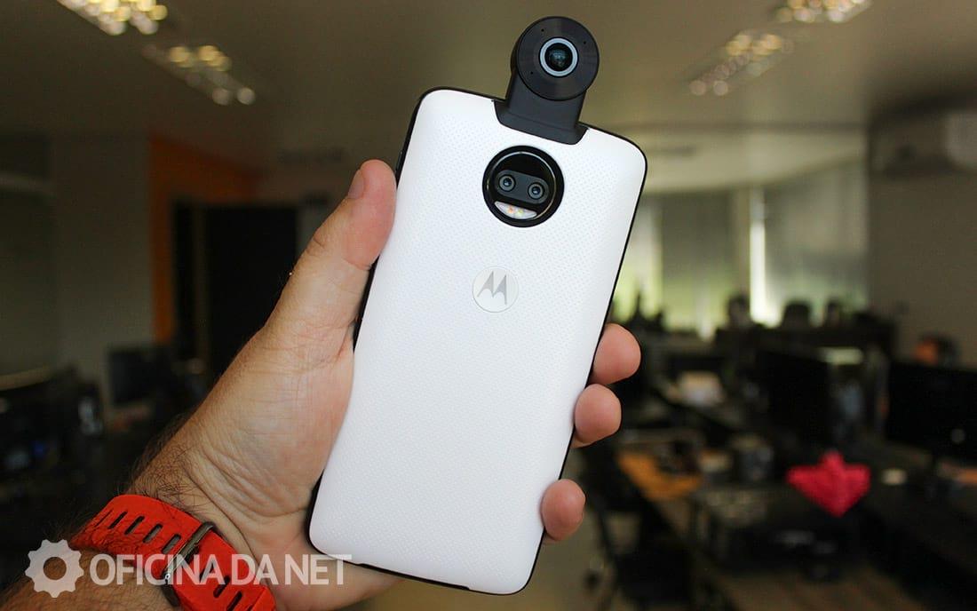 Moto 360 câmera