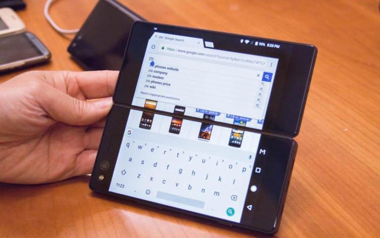 CES 2018: Conheça o smartphone com duas telas da ZTE