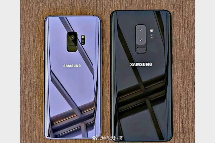 S9 câmera única, S9+ câmera dupla