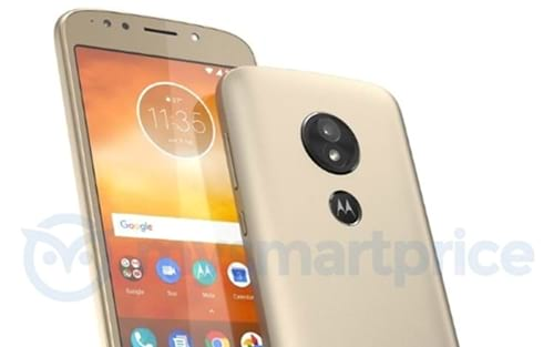 Imagem vazada do Moto E5 demonstra leitor de digital na traseira
