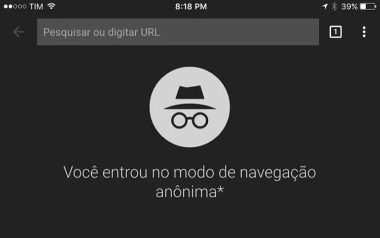 Modo anônimo da versão móvel do Chrome pode conter falha de segurança