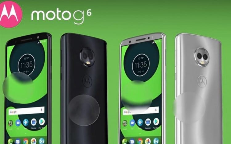Este pode ser o visual do Moto G6 e Moto G6 Plus