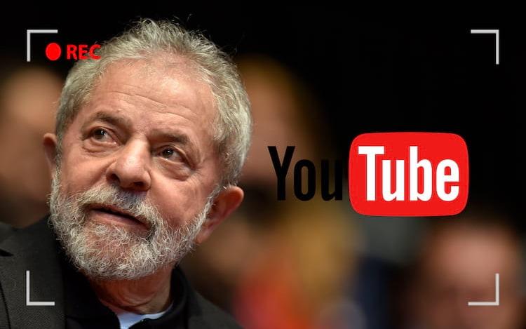YouTube transmitirá o julgamento do ex-presidente Lula