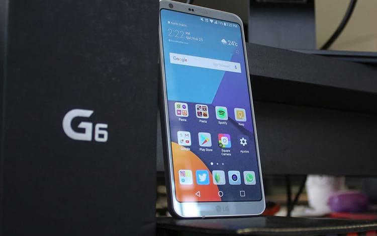 LG G6 teve boa melhora, mas não representou boas vendas