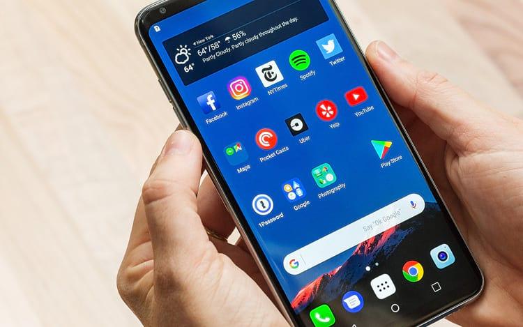 LG V30 não é vendido no Brasil