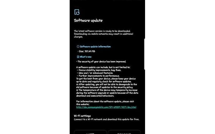 Atualização de janeiro da Samsung chega para o Galaxy Note 8 e S6 Edge+