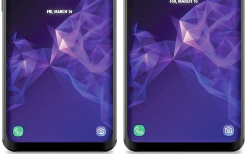Revelada a face do Galaxy S9 e S9+