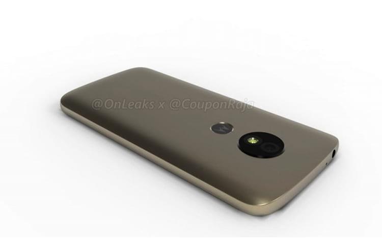 Moto E5 aparece em vídeo 3D com mudanças no design