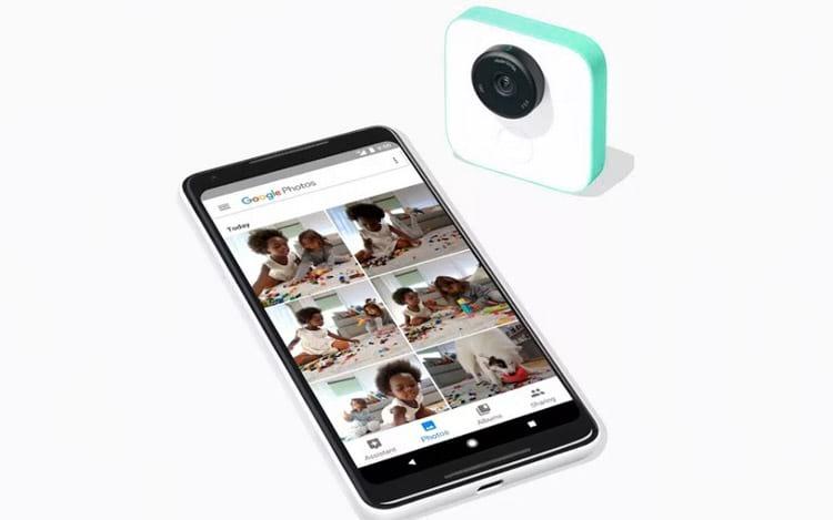 Imagens e vídeos são transmitidos ao smartphone