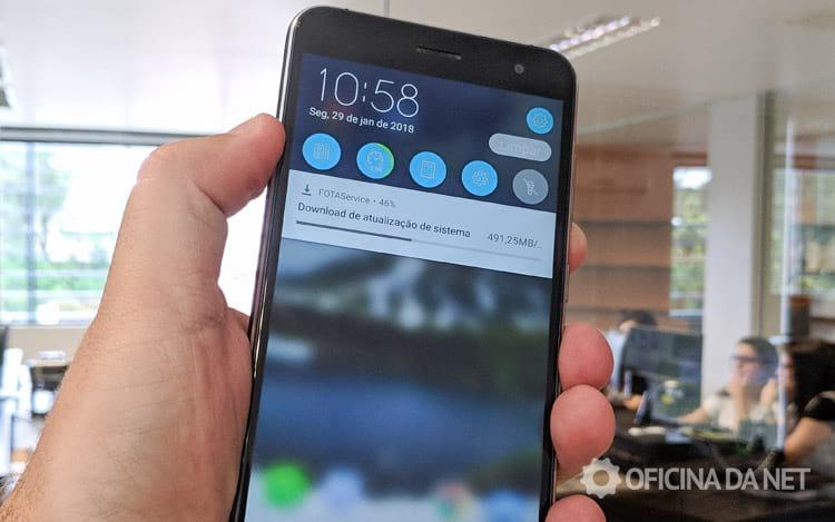 Zenfone 3 recebe update para Android Oreo