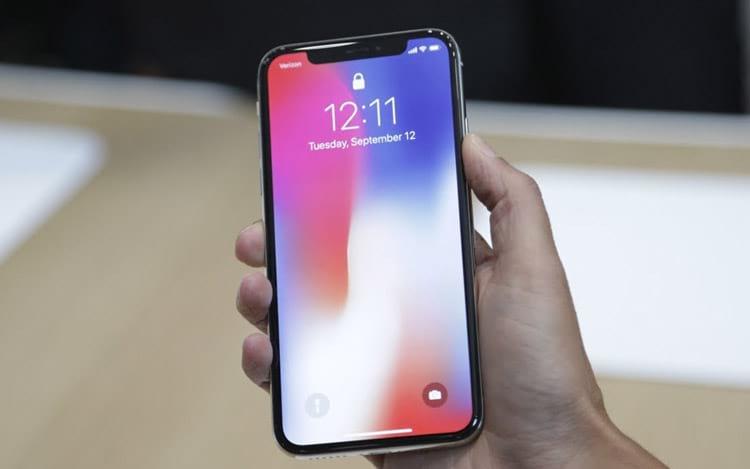 Ações da Apple caem após queda na produção do iPhone X