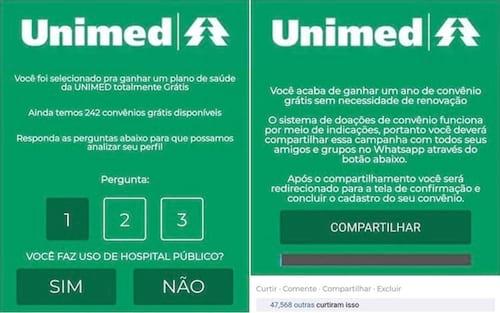 Novo golpe no WhatsApp oferece plano de saúde grátis em troca das informações do usuário
