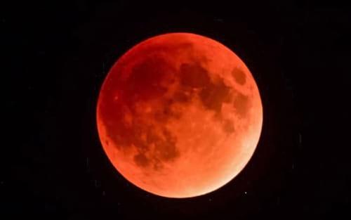 NASA irá transmitir o eclipse lunar desta quarta-feira pelo app para celular