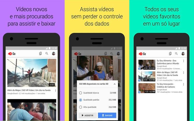 A partir de hoje será possível baixar os seus vídeos preferidos no app para assistir onde quiser e no horário que desejar
