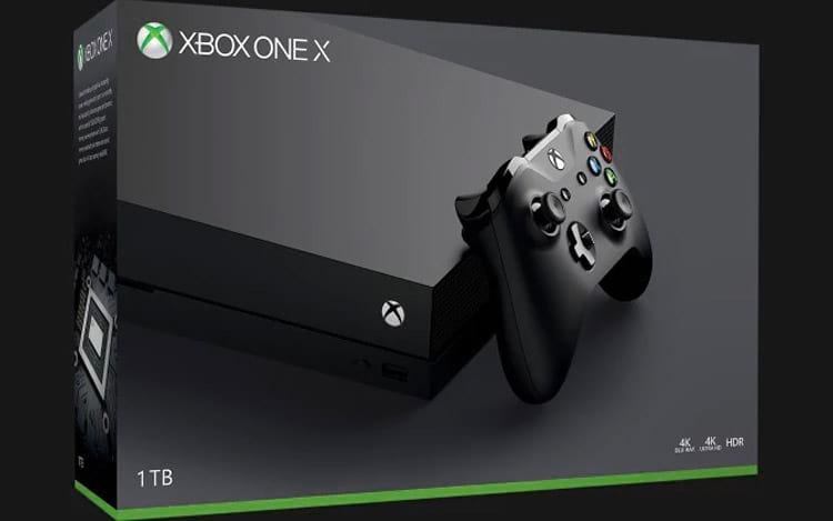 Microsoft diz que Xbox One X foi o console que mais vendeu durante o Natal