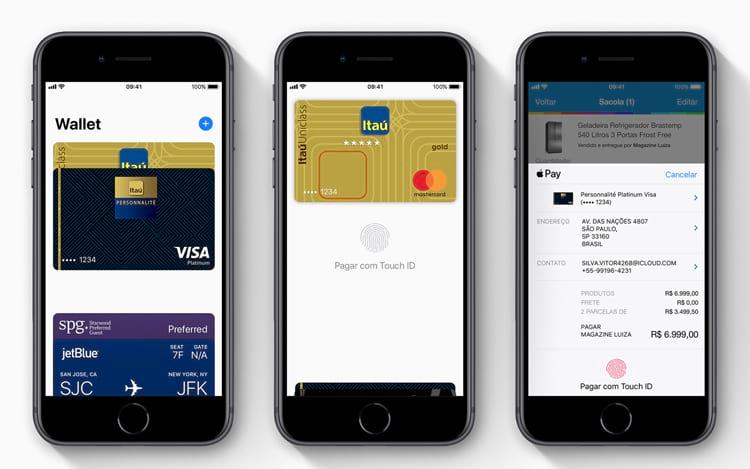 Apple Pay chegará com parceria com o banco Itaú.
