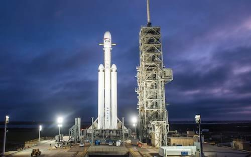 SpaceX prevê para esta semana o lançamento do foguete Falcon Heavy