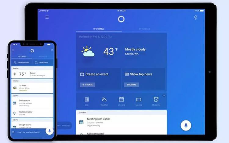 Cortana recebe atualização para iPad