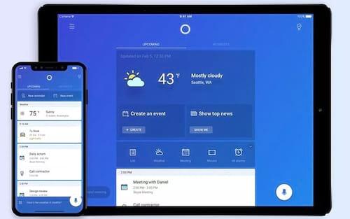 Cortana, assistente pessoal da Microsoft, ganha atualização para iPad