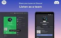 Spotify permite sincronização com usuários Discord para gamers compartilharem músicas